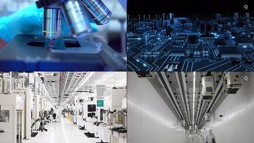 芯片研发研究4k高清视频素材
