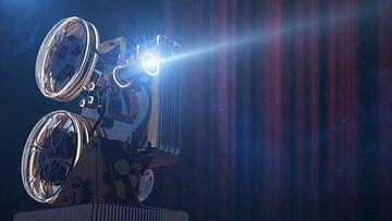 电影院放映机片头AE模板