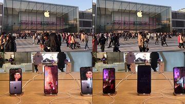 4K超清苹果手机专卖店视频素材