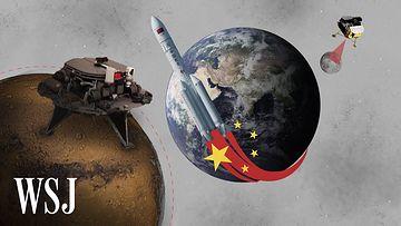 中国航天计划探索月球和火星视频素材完整版