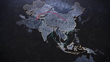 中国新丝绸之路雄心与机遇美国财经高清完整版