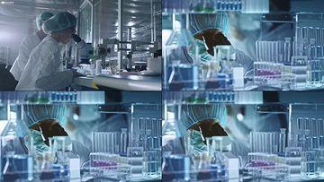 美国科研实验室高清视频素材