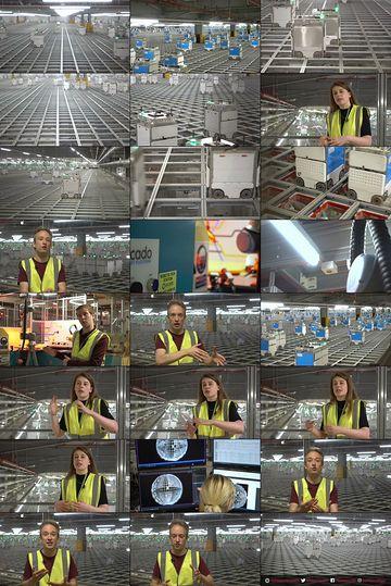 经营一家物流公司需要多少机器人?50fps视频素材完整版