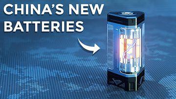 比亚迪的新型电动车刀片电池视频素材完整版