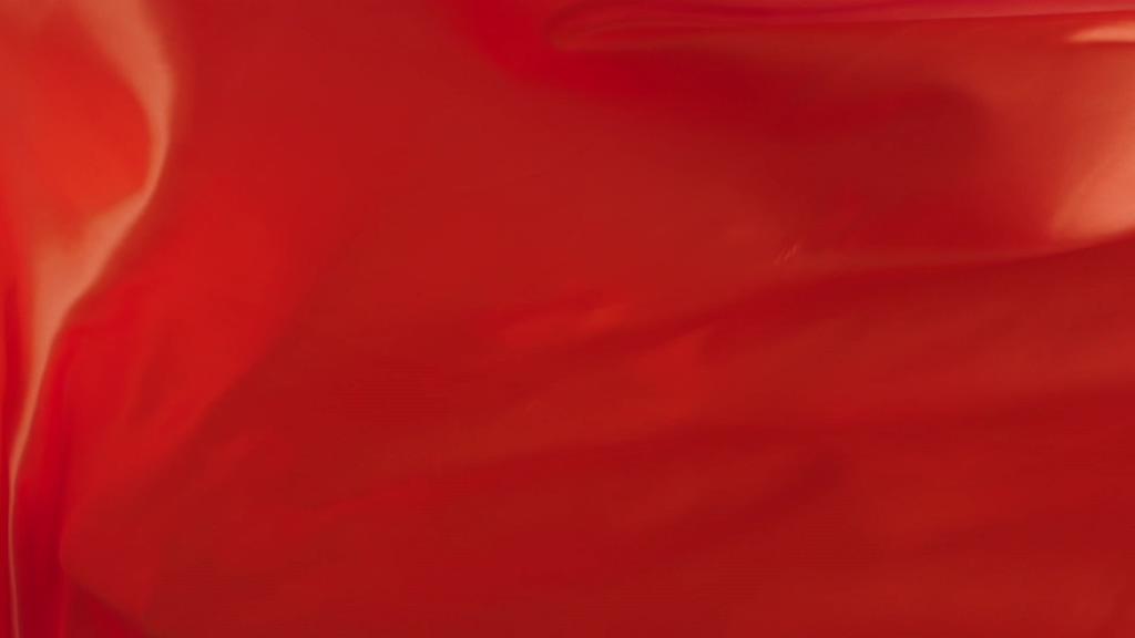 红色丝绸布料背景视频素材
