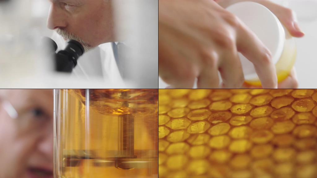 4K蜂蜜蜂王浆视频素材下载