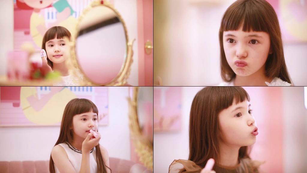 儿童护肤品视频素材