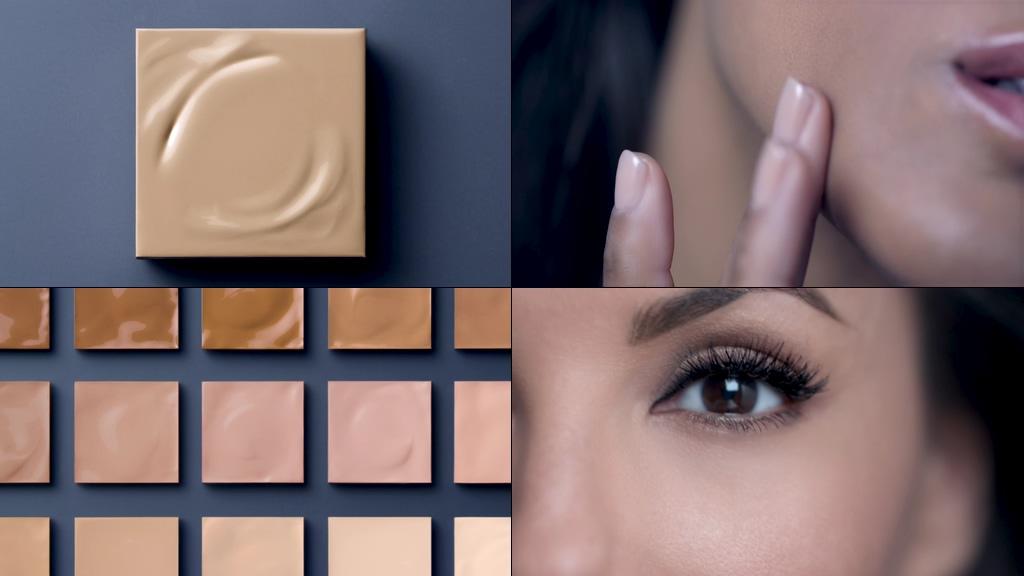 化妆品模特视频素材