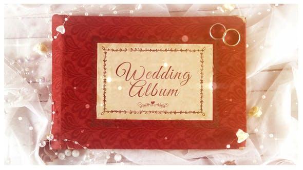 婚礼相册ae模板下载