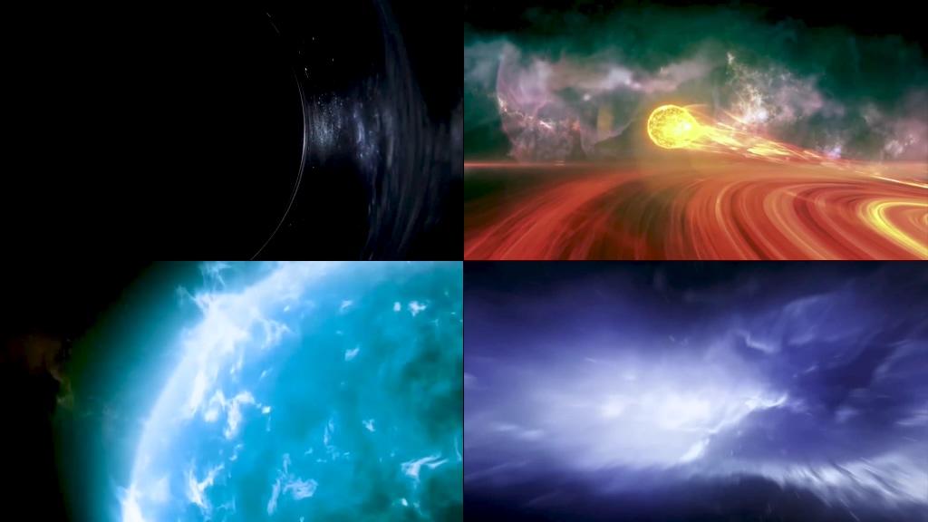 黑洞高清视频素材