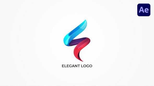 优雅logo展示ae模板