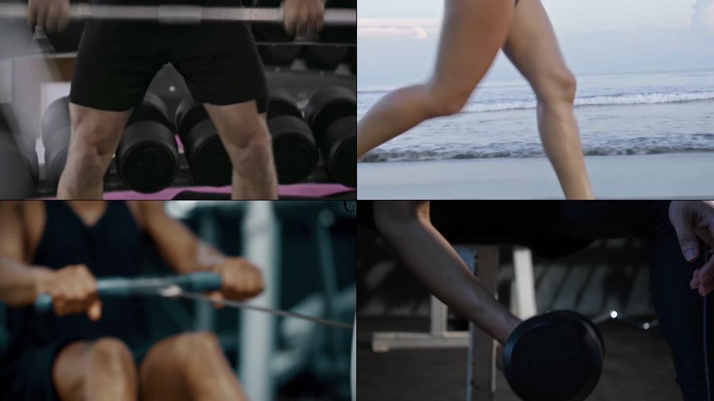 运动健身视频素材合集
