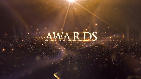 Videohive颁奖晚会大标题ae模板