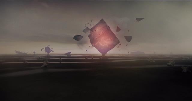 4K科幻能量正方形窄高清视频素材