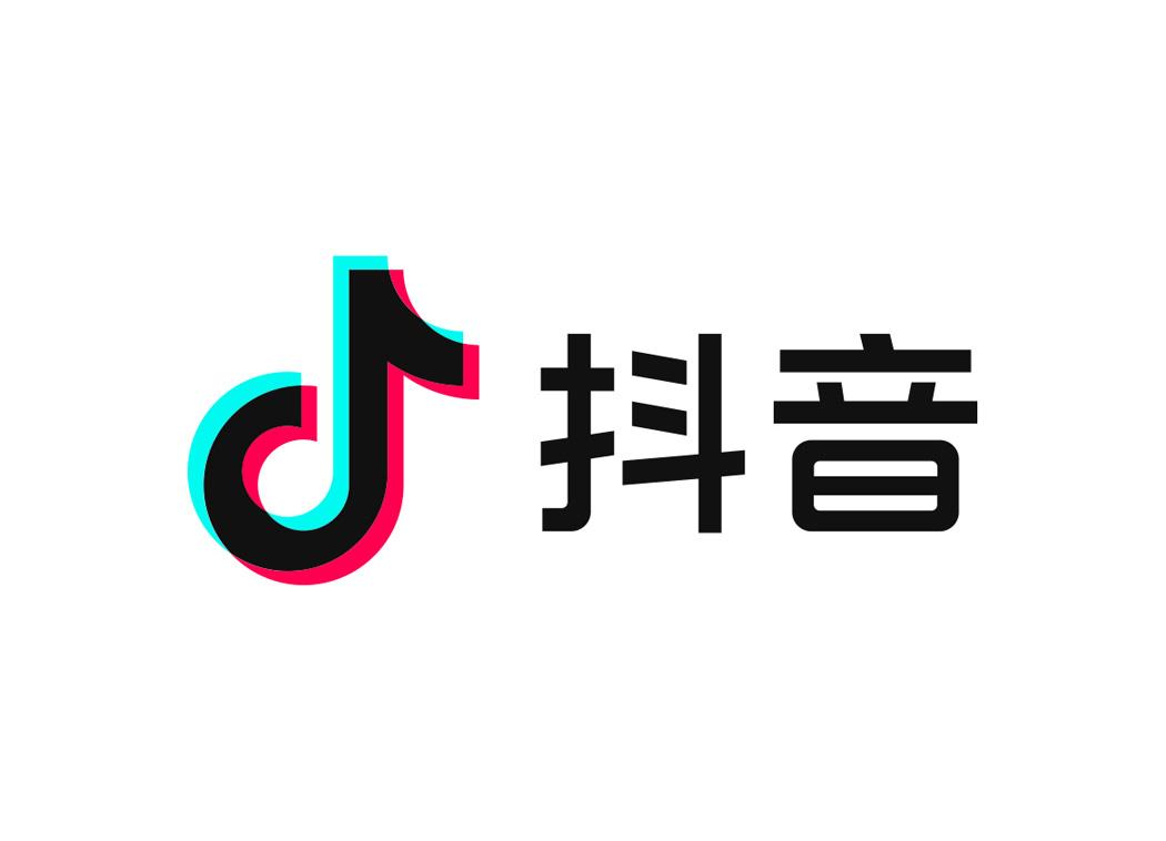 抖音logo图标矢量素材