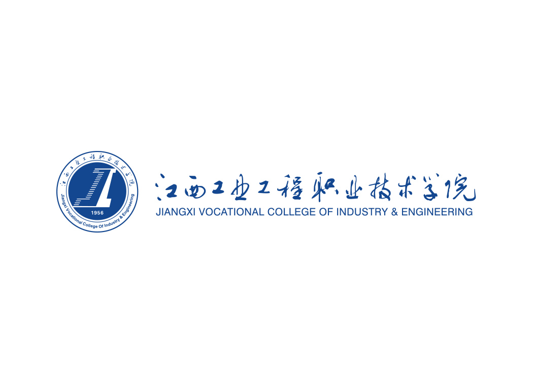江西工业工程职业技术学院校徽LOGO矢量素材下载