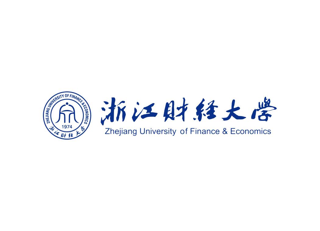 浙江财经大学校徽LOGO矢量素材下载