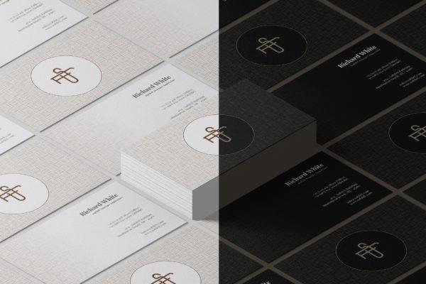 精品豪华的名片设计模板Vol.3AI,EPS,PDF,PSD源文件,编号:82637733