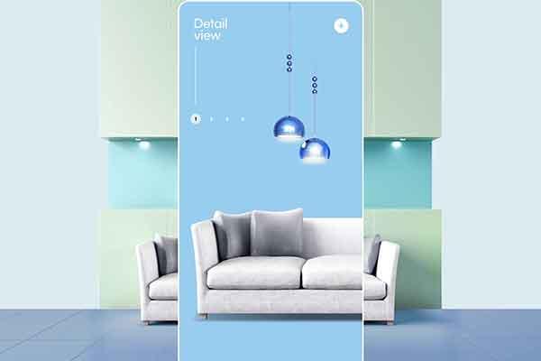 精品现代简约风布艺沙发产品广告海报设计模板源文件,编号:82626731