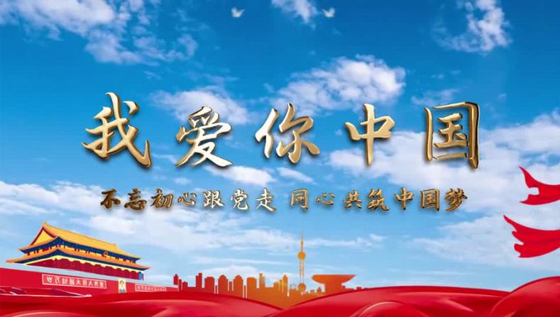 我爱你中国企业MVAE模板下载