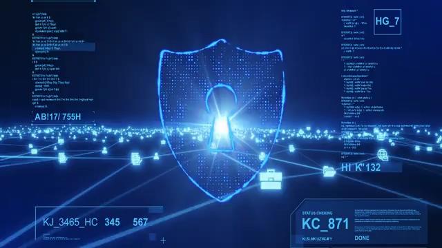 4K网络安全防护视频素材