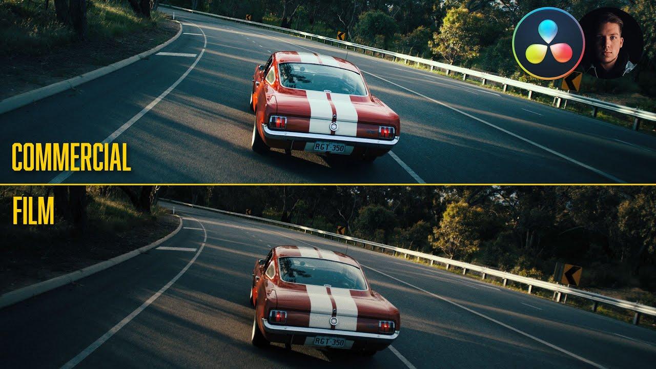 汽车商业与电影分级DaVinci Resolve 17视频教程