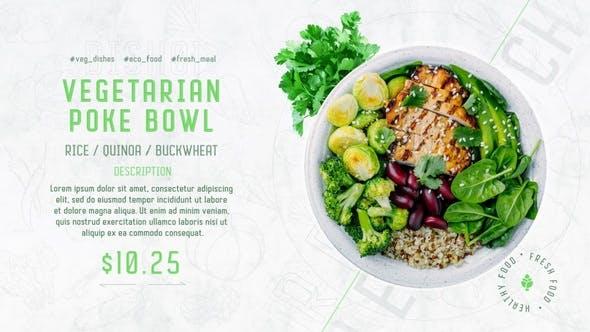 绿色食品促销33784614模板下载