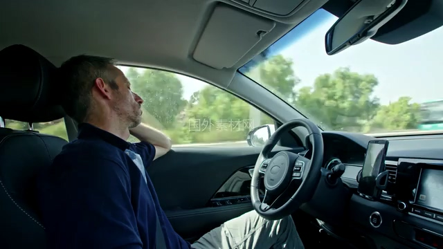 4K无人自动驾驶视频