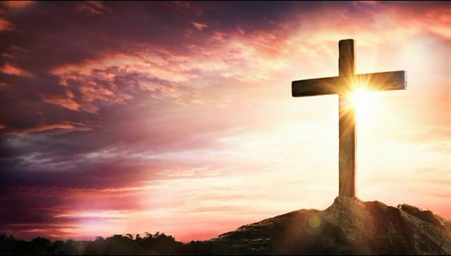 山顶上的十字架视频