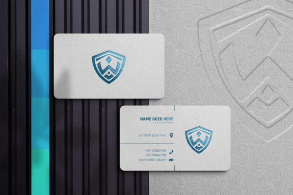 名片模型-白纸纹理样机PSD_,JPGMockups模板,编号:82631011