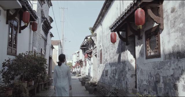 4K中国古村古道园林视频