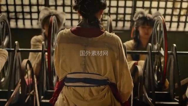 古代传统制衣历史视频素材