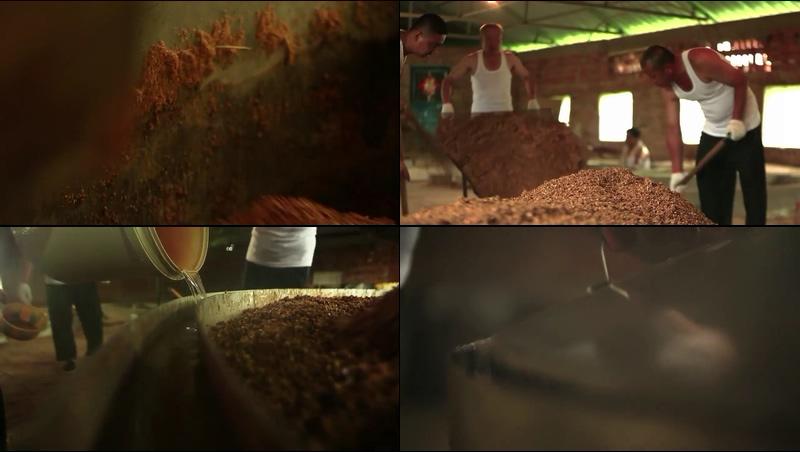 酿酒的过程视频素材
