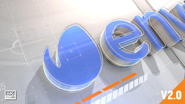 数字标题元素3DAE模板