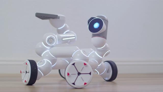 智能制造的小汽车视频素材