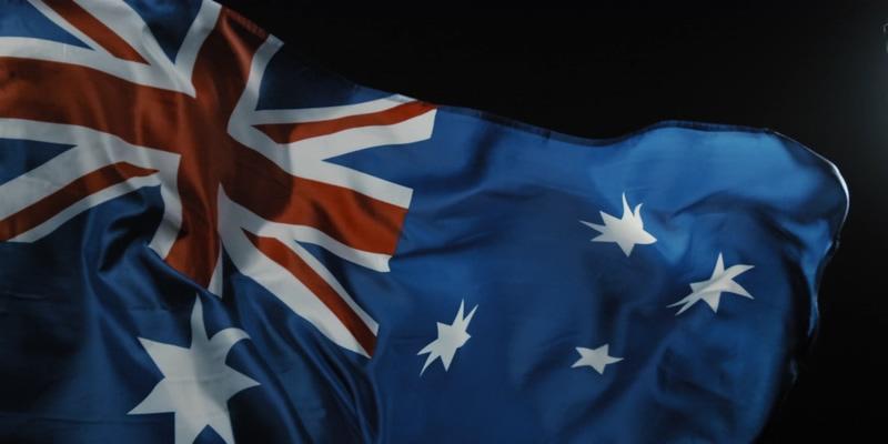 4K澳大利亚国旗