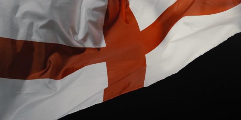 4K英格兰国旗视频素材
