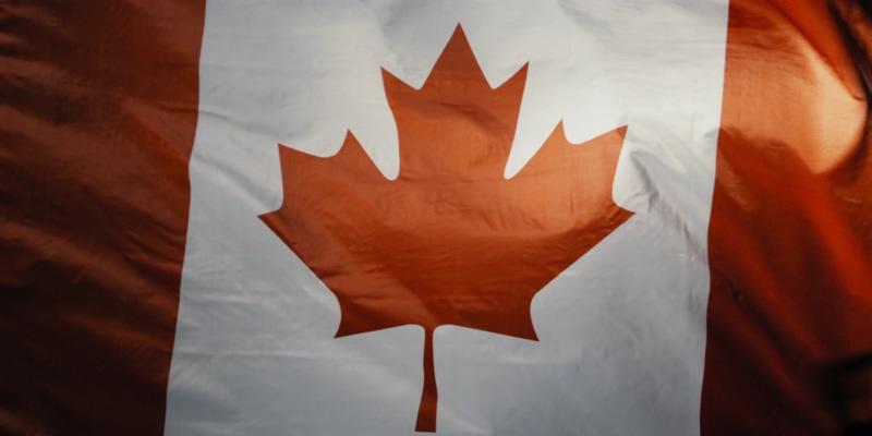 4K加拿大国旗全屏视频素材