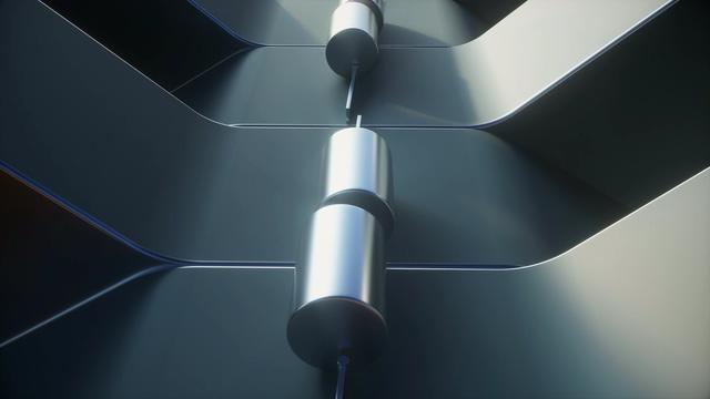 -4K金属质感的3D循环动画视频素材