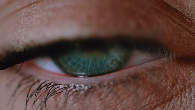 4K眼睛微距大特写视频素材