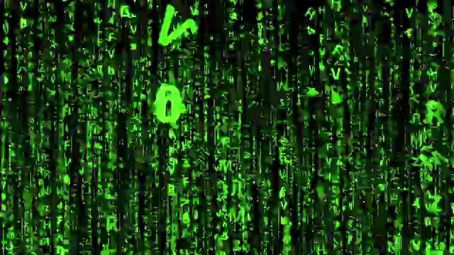 骇客帝国数字粒子雨免费视频下载