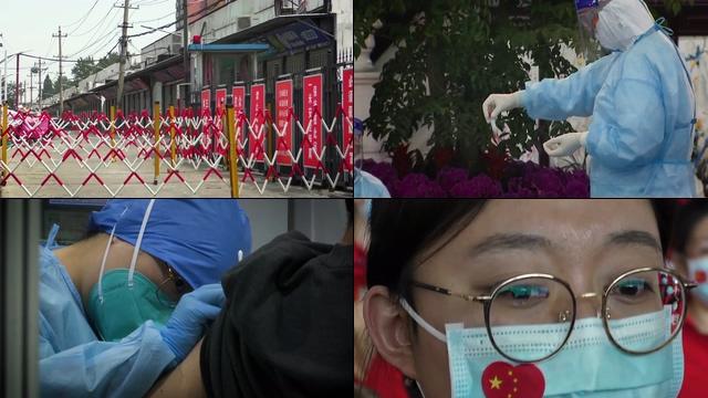 打疫苗的人视频素材