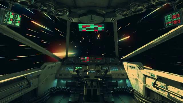 宇宙飞船驾驶舱免费视频素材