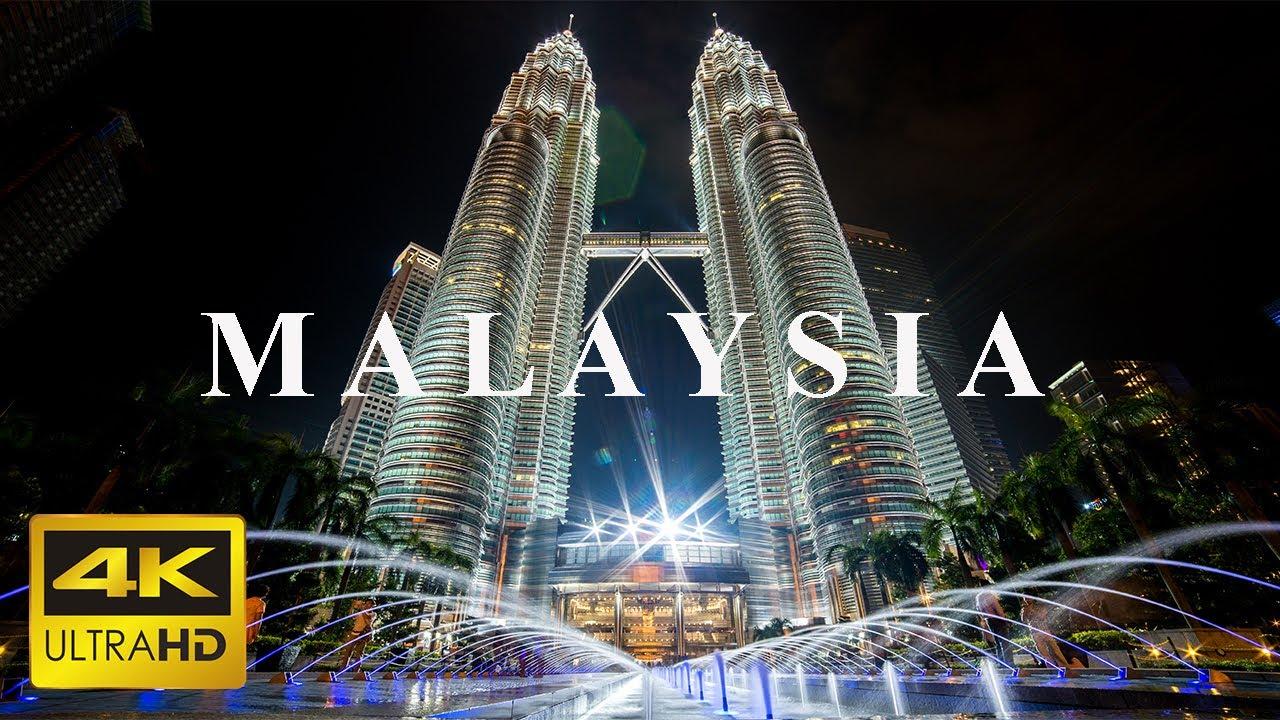 马来西亚吉隆坡8K超高清无人机视频