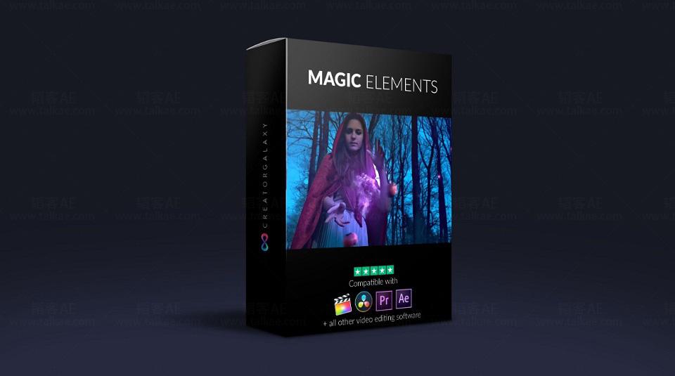4K魔法粒子特效合成视频素材完整版